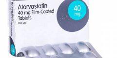 أتورفاستاتين Atorvastatin أقراص لعلاج زيادة الكولسترول