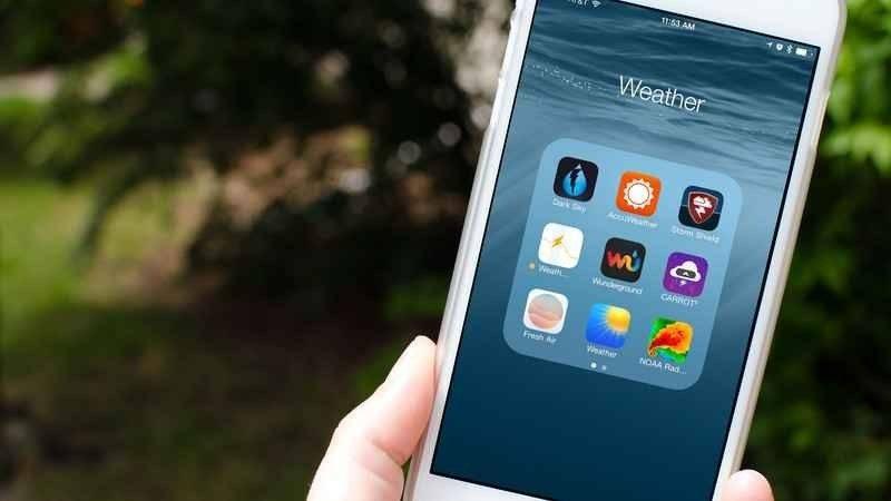 أفضل تطبيق طقس للأيفون تعرف على أفضل التطبيقات الخاصة بالطقس