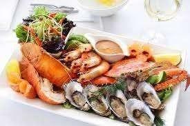 أكلات بحرية رائعة  –