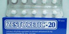 اقراص زيستوريتيك لعلاج ارتفاع ضغط الدم Zestoretic