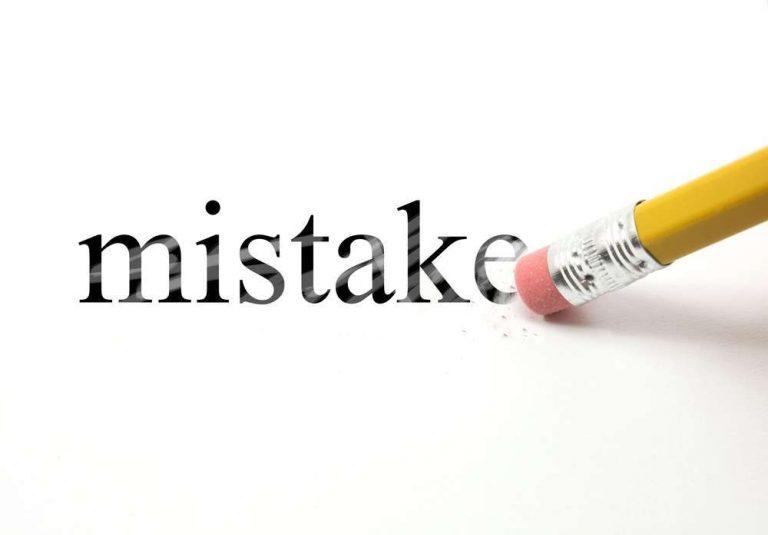 فن التعامل مع الأخطاء .. تعرف علي اتيكيت التعامل مع أخطائك وكيفية معالجة أخطاء العمل