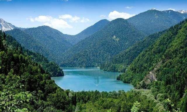 أجمل معالم الطبيعة في جورجيا
