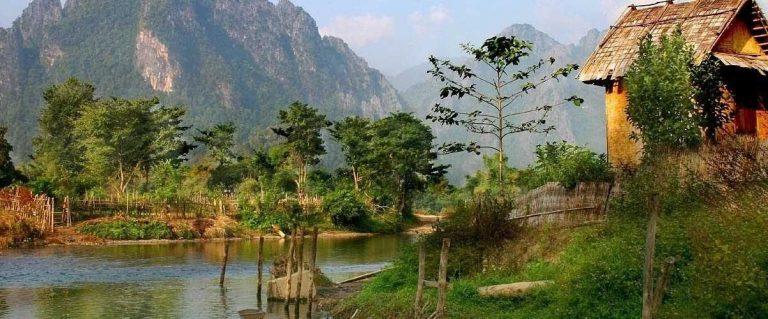 الطبيعة في لاوس ..