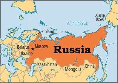 المسافات بين مدن روسيا وأهم الدول المجاورة لها ومدى القرب منها