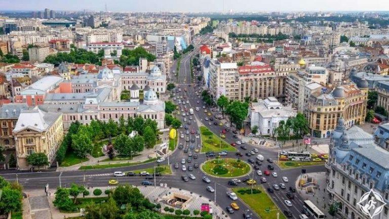 المسافات بين مدن رومانيا