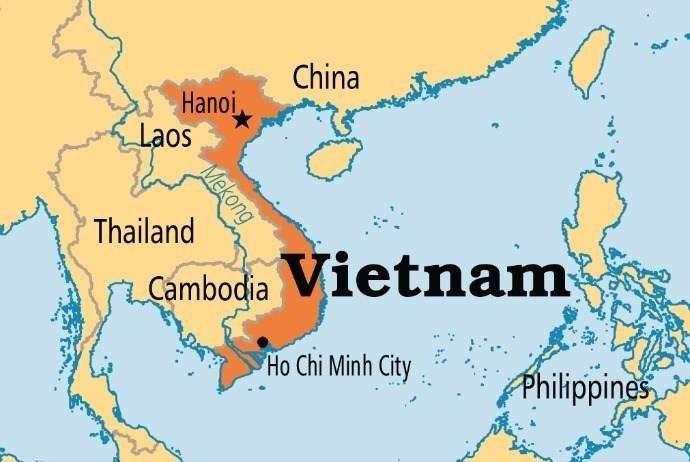 المسافات بين مدن فيتنام …و بينها وبين الدول المجاورة لها واشهر المناطق السياحية بها