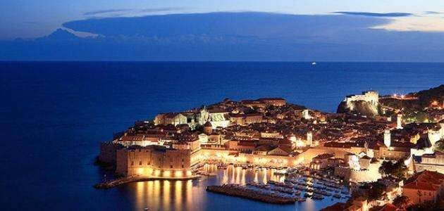 المسافات بين مدن كرواتيا