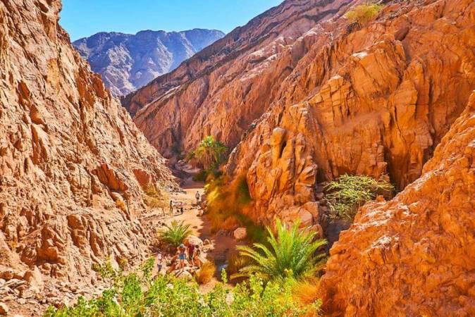 الوادي الملون في سيناء