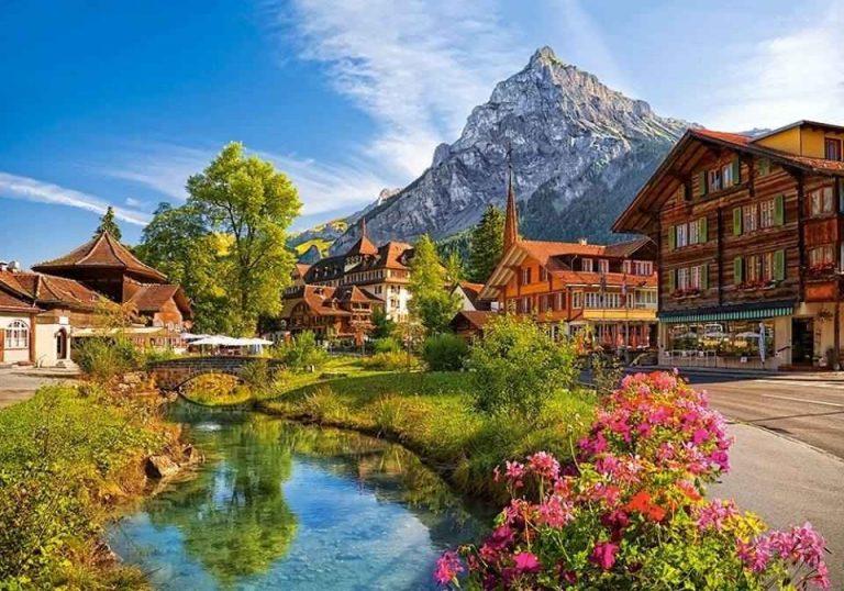 """تكلفة السياحة في سويسرا.. منبع """" السعادة """" تضمن لك قضاء رحلة مميزة بأقل التكاليف .."""