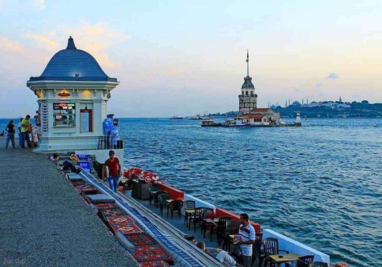 المسافات بين مدن تركيا
