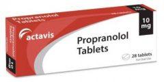 أقراص بروبرانولول propranolol لعلاج آلام الصدر