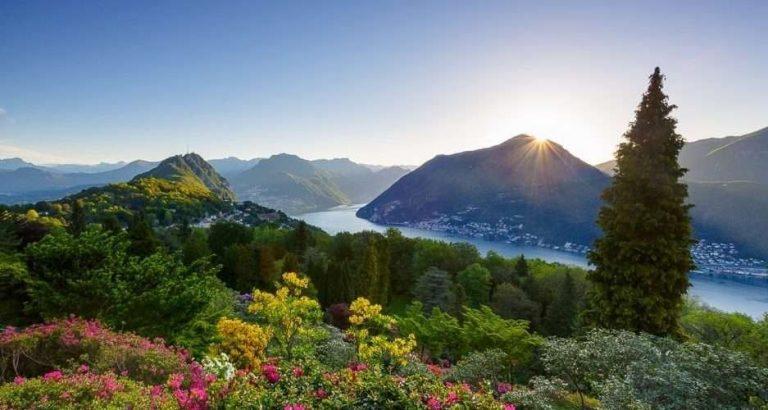 السياحة في سويسرا شهر أغسطس