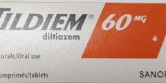 دواء تيلديم Tildiem لعلاج ارتفاع ضغط الدم