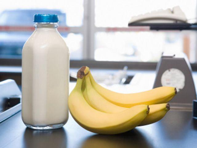 رجيم الموز باللبن لخسارة الوزن خلال اربعة ايام