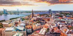 عاصمة لاتفيا