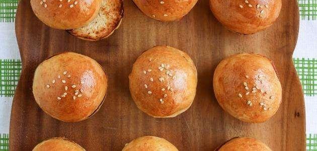 طريقة تحضير خبز البرجر