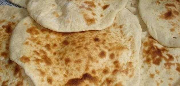 طريقة عمل خبز الطابون