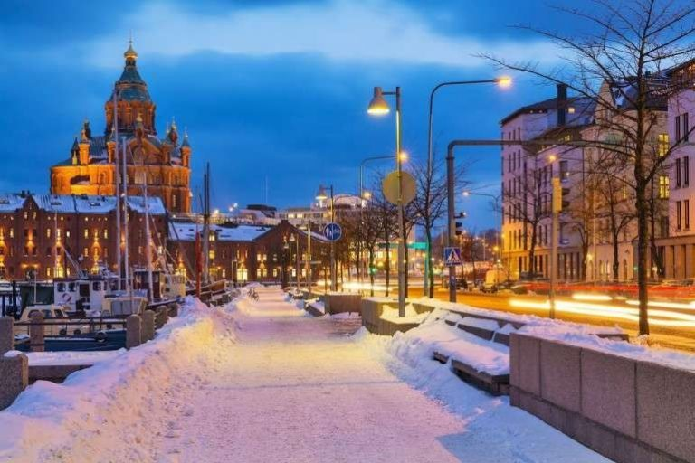 هلسنكي في الشتاء .. ما يجب القيام به في العاصمة الفنلندية هلنسكي خلال فصل الشتاء