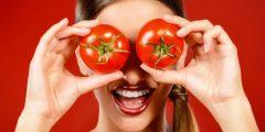 فوائد الطماطم للوجه