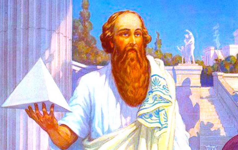 علماء الرياضيات فيثاغورس .. تعرف على أفكاره الرياضية ومبادىء نظرية فيثاغورس الشهيرة