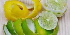 قشر الليمون : كنز في كل بيت