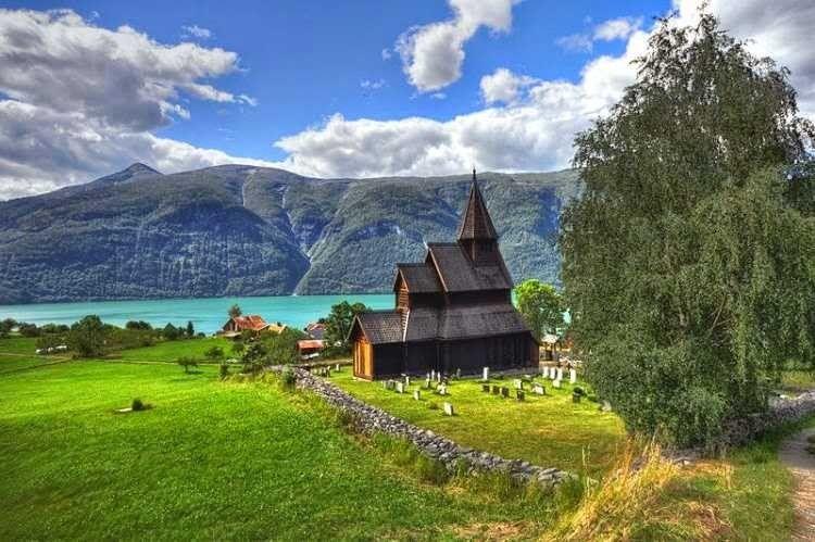 طبيعة النرويج الخلابة