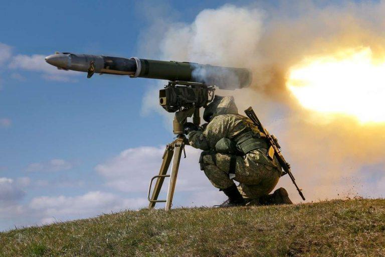 معلومات عن صاروخ الكورنيت .. تعرف على مميزات صاروخ الكورنيت المضاد للدروع