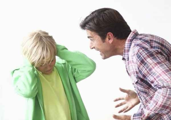 التعامل مع الأب العصبي