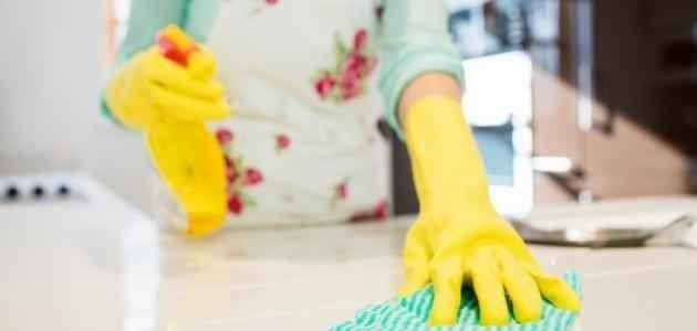 طريقة تنظيف الغبار من البيت