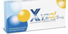 ليفوسيتريزين Levocetirizine لعلاج الحساسية