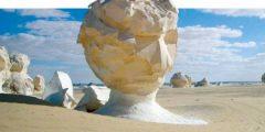 معلومات عن الصحراء البيضاء في مصر