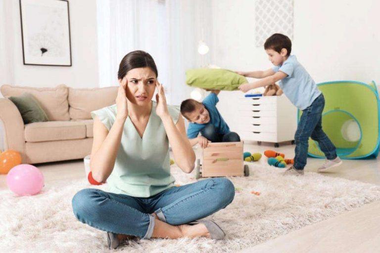 مشاكل الأطفال في البيت