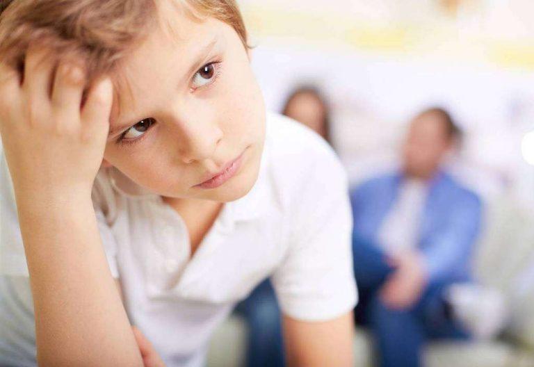 مشاكل الأطفال في سن الثامنة