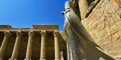 معلومات عن معبد إدفو في مصر