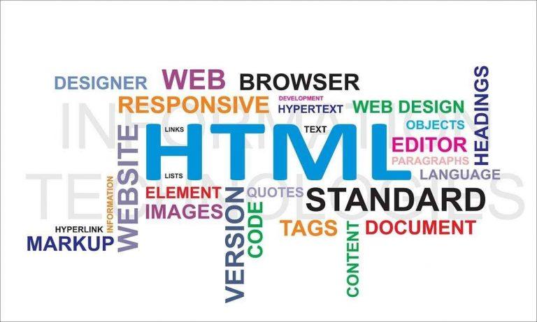 معلومات عن لغة البرمجة html واستخداماتها.. تعرف معنا على كل ما يخص لغة البرمجة html