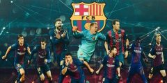 مدرب فريق برشلونة