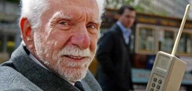من هو مخترع الجوال .. تعرف على المخترع مارتن كوبر ……………