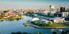 عاصمة روسيا البيضاء بيلاروسيا