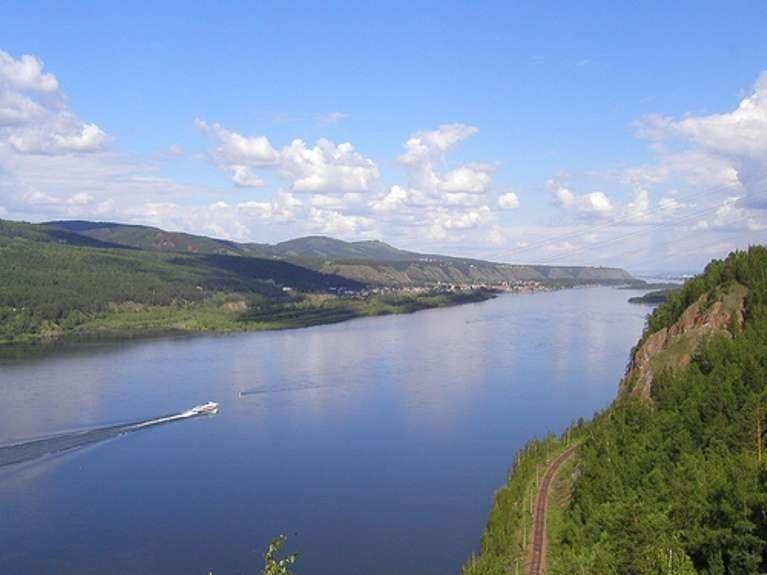 معلومات عن نهر ينسي..تعرف عليه…………………………………..