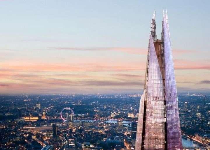 """معلومات عن برج شارد لندن .. تعرف على واحد من أشهر الأبراج فى لندن """" برج شارد لندن """" .."""