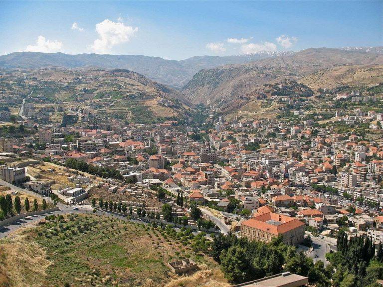 معلومات عن مدينة زحلة لبنان