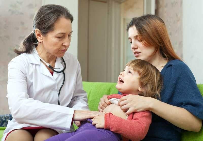 علاج المغص عند الاطفال الكبار