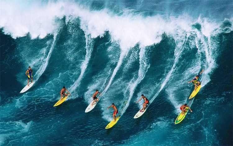 أهم المعلومات عن رياضة ركوب الأمواج