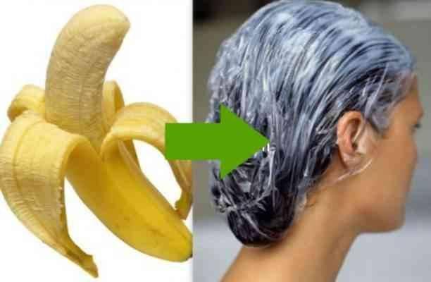 ماسك الموز للشعر - وصفات طبيعية لتنعيم الشعر
