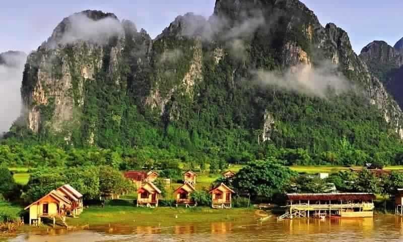 """""""ثام هونغ لو """""""" Tham Kong Lo .. الطبيعة في لاوس"""