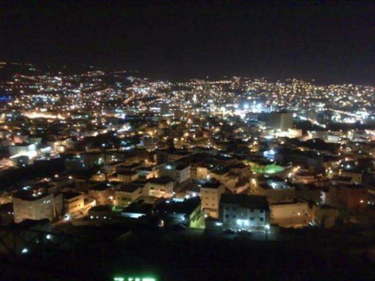 أماكن سياحية في أبها في الليل /  بحر المعرفة