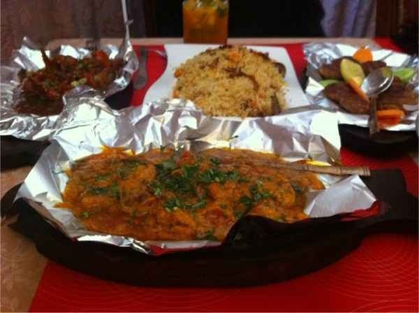 مطعم دي مهراجاز De Mheragaz Restaurant