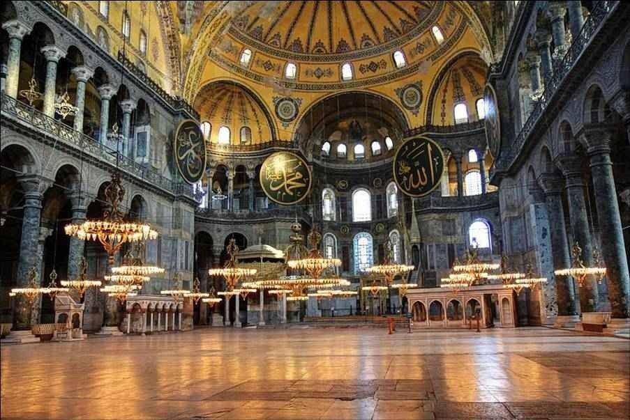 آيا صوفيا أعجوبة معمارية في تركيا