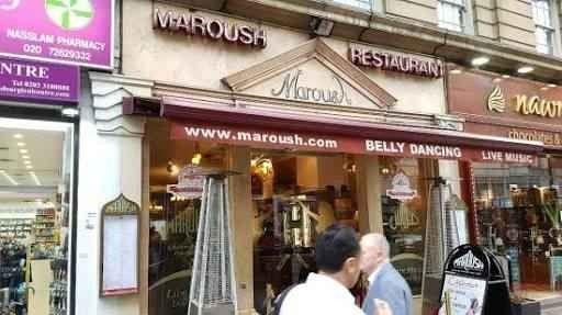 مطاعم عربية رخيصة في لندن انجلترا
