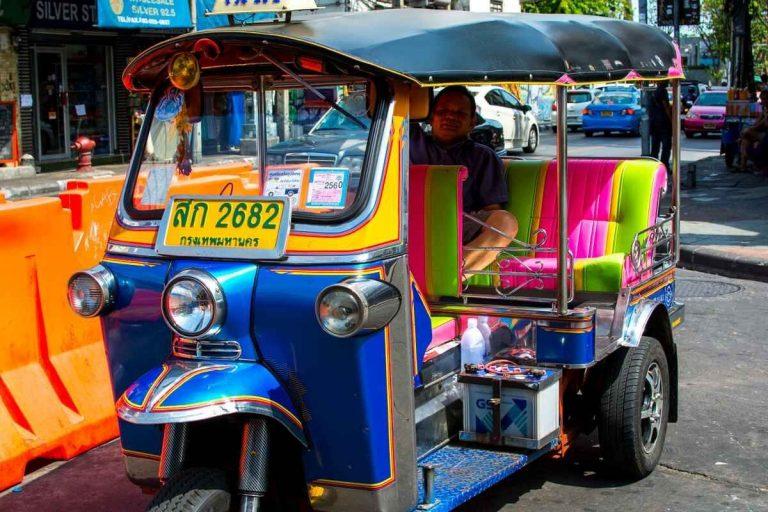 المواصلات في بانكوك – التنقلات في بانكوك